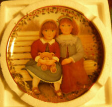 """Sisters Are Blossoms"" Bradford Exchange Collector Porcelain Plate"