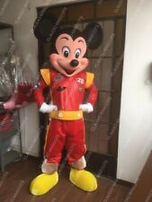 High-quality MICKEY Mouse Racer Deluxe Mascot Costume Special  1