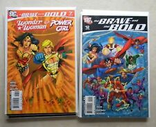 The Brave and the Bold #1-12 (2007, DC) $36.00 LOT Batman WONDER WOMAN Supergirl