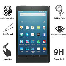 2017 For Amazon Kindle Fire HD 8 7th Gen Premium Tempered Glass Screen Protector