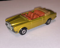 MATCHBOX SUPERFAST ROLLS-ROYCE SILVER SHADOW COUPE, No 69;no box; no windscrean