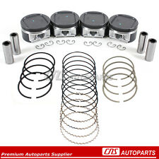 Pistons & High Performance Rings Fits 02-05 EJ205 EJ20 Subaru Impreza WRX Turbo