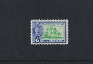 British Honduras - 1949 - SG 171 - 15c - 150th Anniv of Btle of St Ge - MLH 2045