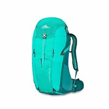 WOMENS High Sierra Karadon 30L HIKING Backpack Adaptable BACK PANEL frame GREEN