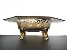 Coppa in vetro ed e-mail dorata con decorazioni stile giapponese verso 30 28 cm