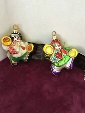 2001 Polonaise Ap1301 (Little Tops - Clowns) Ornaments New