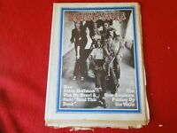 Vintage Rock N Roll Magazine Rolling Stone Sept. 1971 #92 Jefferson Airplane G40