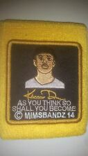 KHRIS DAVIS NON GAME USED WRISTBAND MIMS MILWAUKEE BREWERS OAKLAND A'S