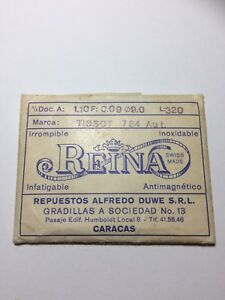 Reina Mainspring for Tissot 784 Aut. Original New-Old Stock