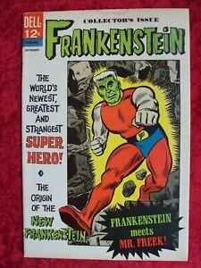 FRANKENSTEIN #2 DELL COMIC 1966 COMIC BOOK