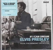 ELVIS PRESLEY If I Can Dream CD with Hype Sticker