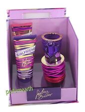 GIRLFRIEND BY JUSTIN BIBER 3PCES SET1.7/1.6 OZ EDP SPRAY FOR WOMEN NEW IN A BOX