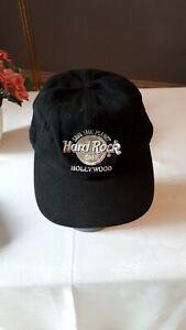 Original Hard Rock Cafe Hollywood Cap Baseball-Cap Kappe * schw./silber one size
