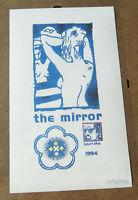 Leonard Cohen the mirror 1994 RARE reproduction édition limitée 1000 ex 896/1000