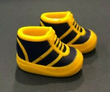 Barbie Navy Blue Yellow Sneakers Tennis Shoes China