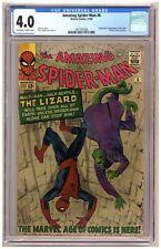 Amazing Spider-Man #6 (CGC 4.0) Origin/1st appearance of the Lizard; Dikto B942