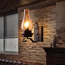Loft Industrail Kerosene Vintage Wall Light Fixtures Lamp Sconce Home Bar Decor