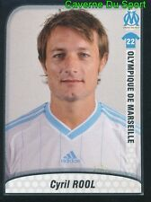254 CYRIL ROOL FRANCE OLYMPIQUE MARSEILLE OM STICKER FOOT 2010 PANINI