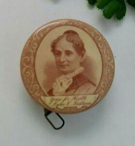 Lydia E pinkham's Liver Pills celluloid tape measure advertisement