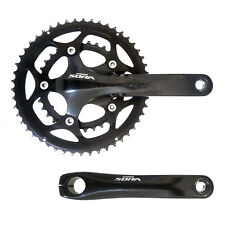 SHIMANO SORA HOLLOWTECH 24MM ALLOY 170MM 50/34 COMPACT 110BCD CRANKS CHAINSET