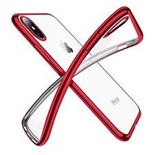 Étuis, housses et coques rouge transparent Pour iPhone X pour téléphone mobile et assistant personnel (PDA)