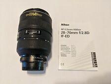 Nikon Zoom Nikkor AF-S 28-70mm f/2.8D IF-ED