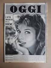 OGGI n°1 1959 Annette Stroyberg Maria Josè di Savoia Eleonora Rossi Drago [G747]