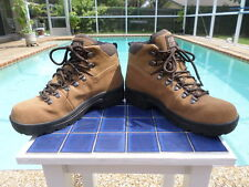 Hiking Boots FADED GLORY Waterproof Suede Upper Leather 5414472 Nigel His7 Hers9