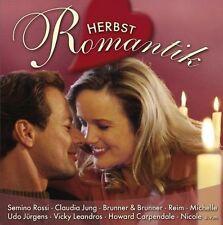 Herbstromantik - 2 CDs NEU Semino Rossi Wind Udo Jürgens Claudia Jung Mouskouri