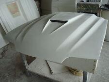 "Fiberglass 3"" Cobra R SVO Cowl Bolt-on Mustang Hood 87-04"