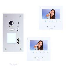 Video Tür Sprechanlage Klingel Gegensprechanlage 2familienhaus 2Draht 607FS2 43W