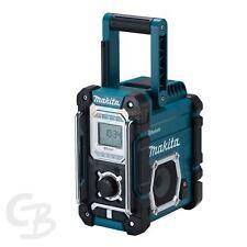Makita batería radio de obra dmr108 7,2 -18V NUEVO BLUETOOTH USB Auxiliar RDS