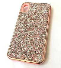 """For iPhone XS Max 6.5"""" - Hard Hybrid Armor Impact Case Cover Diamond Bling Studs"""