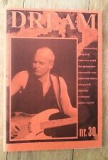 STING (POLICE) 'The Dream' fanzine from Holland - issue #30