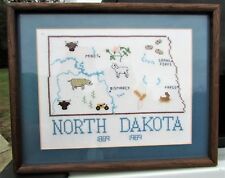 1989 North Dakota State Centennial Needlepoint