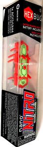 HEXBUG Nano Nitro Orange/Green Glows in the Dark Sealed in box