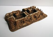 WW1 Trench, two fire bay section, 28mm Scale Blastwall terrain