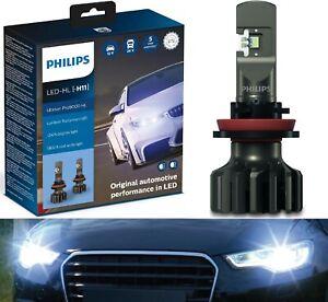 Philips Ultinon Pro9000 LED 5800K H9 Two Bulbs Head Light High Beam Upgrade Lamp