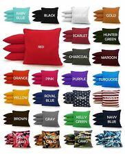 Top Quality - Set of 4 Cornhole Bags Regulation Size - 25 Colors - Corn Filled