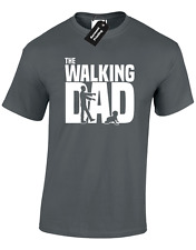 THE WALKING DAD MENS T SHIRT FUNNY NEW FATHER GIFT IDEA DEAD RICK GRIMES DARYL