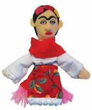 Finger Puppet Frida Kohlo Magnetic  Unemployed Philosophers Plush