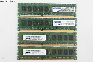 Mac Pro 4,1 Ram 4GB (4 x 1GB) PC3-8500 ECC Various Apple OEM Brand - Server Ram