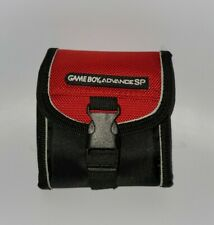 Game Boy Advance SP Switch N Carry Protective Carrying Travel Case Red and Black