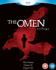 The Omen Trilogy - the omen / omen 2 / omen 3 - The Final Conflict Blu-Ray NEW B