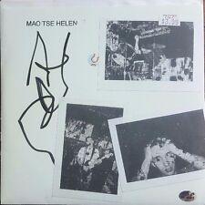 Mao Tse Helen Record Hand Signed PAAS/COA Indie Alternative Punk Rock