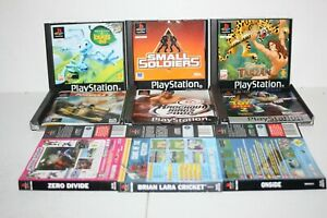 PS1 Game Accessories - Tarzan, Small Soldiers, Toy Story 2, Bug's Life  No Discs