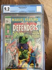 Marvel Feature 1 CGC 9.2 Off White To White Pg