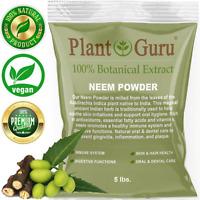 Neem Powder 5 lbs. Bulk Dried Leaf 100% Pure Raw Leaves (Azadirachta indica)