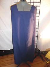 2pc. navy blue dress suit size 28w