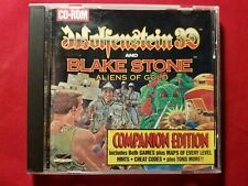 PRE-OWNED WOLFENSTEIN 3D AND BLAKE STONE ALIENS OF GOLD PC 1994 VIDEO GAME VGC!